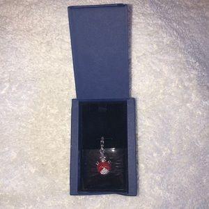 Swarovski Crystal Ladybug Necklace